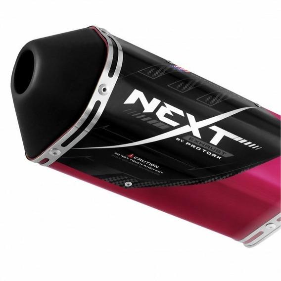 Ponteira Escape Esportivo Next Cb 250 Twister 2015 Pink