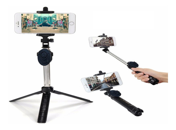 Bastão De Selfie Monopod Bluetooth Tripe Controle +brinde !