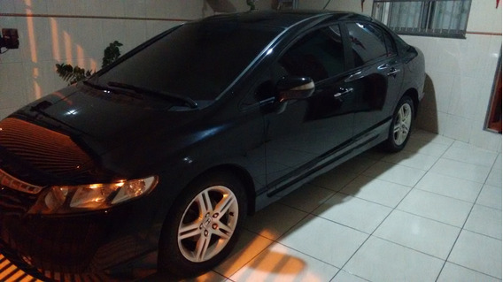 Honda New Civic 2007 (blindado) 1.8 Exs 16v Flex 4p Completo
