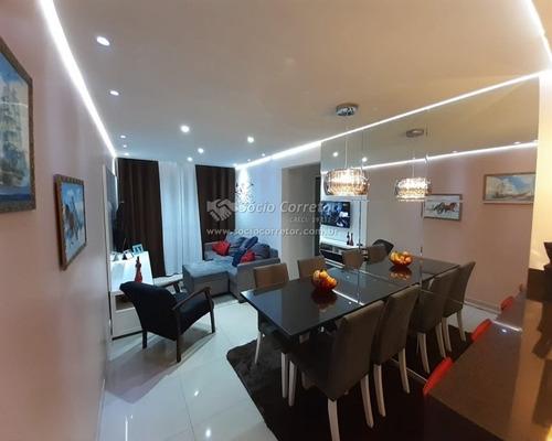 Imagem 1 de 15 de Vendo Apto 57 M² Mobiliado  - 2 Dorms- Resid.atenas- Picanço - Apartamento A Venda No Bairro Picanço - Guarulhos, Sp - Sc01237