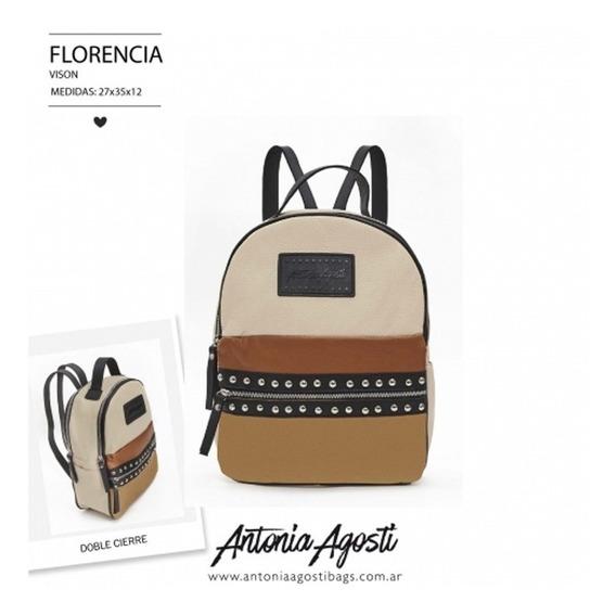 Mochila #florencia - Antonia Agosti