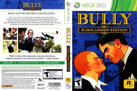 Bully Xbox 360, Mídia Digital