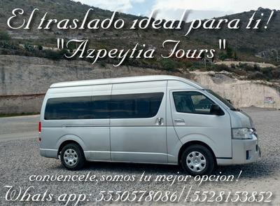 Renta De Camionetas Turisticas,capacidades Para Todos!!