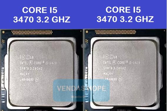Intel I5 3470 3.2ghz 6mb 1155 (em Estoque)
