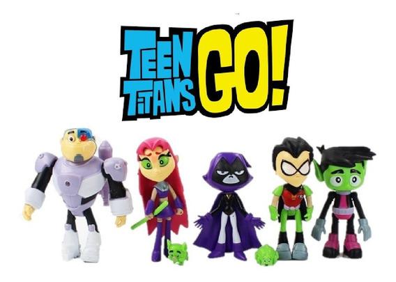 Bonecos Jovens Titãs Teen Titans Go 12cm Brinquedos Promoção