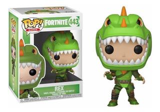 Funko Pop Rex Fortnite Número 443