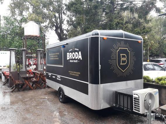 Trailer Gastronómico Foodtruck O Venta Ambulante Linea Nueva