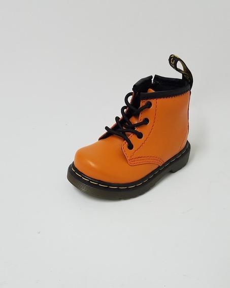 Borcego Dr Martens Naranja Kids.