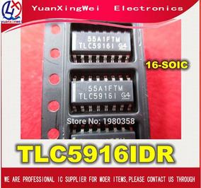 Tlc5916id Tlc5916 Tlc5916idr 16-soic ( 10 Pcs )
