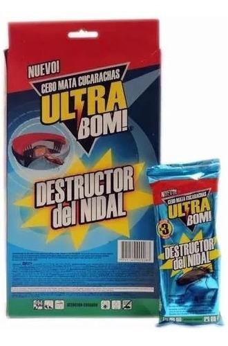 Cucarachicida Mata Cucarachas Ultra Bom Cebo Nido Cucaracha