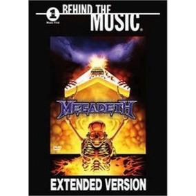 Dvd Megadeth Behind The Music Novo Lacrado Original