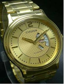 Relógio Citizen Banho A Ouro Frete Grátis Promoção