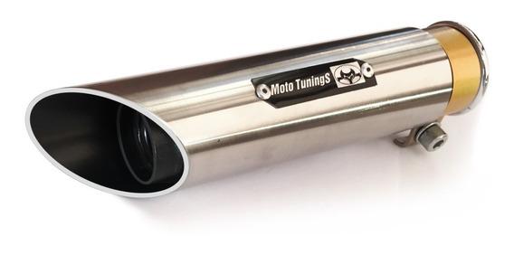 Escapamento Esportivo Ponteira Nova Cb Twister Flauta + Inox