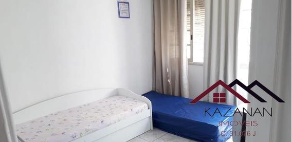 Kitnet Temporada - Bairro Embaré - Santos - Frente Praia - 3914