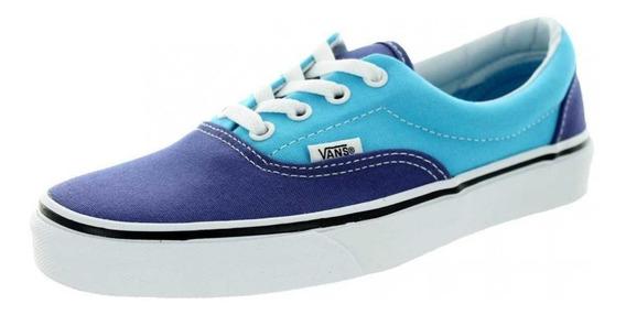 Vans Authentic Dama Azul Cielo/morado Originales Vn0y6xf6x