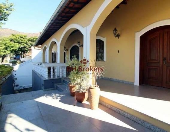 Casa Com 4 Quartos À Venda No Mangabeiras, 575 M² Por R$ 1.850.000 - 18547