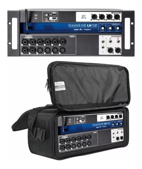 Mesa De Som Digital Soundcraft Ui16 C/case 1 Ano Garantia