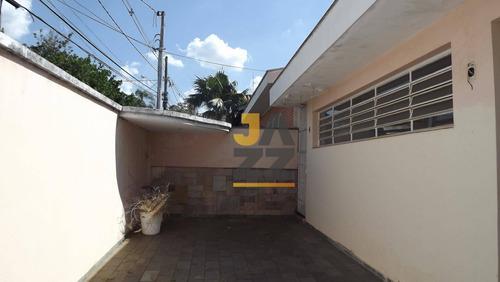 Imagem 1 de 26 de Casa Com 3 Dormitórios À Venda, 210 M² Por R$ 840.000,00 - Taquaral - Campinas/sp - Ca12863