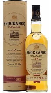 Whisky Knockando 12 Años Single Malt C/lata Envio Grati Caba