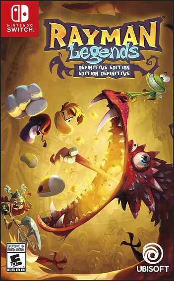 Rayman Legends Definitive Edition Switch Mídia Física