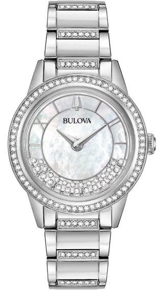 Relógio Bulova Turnstyle Swarovski 96l257 Feminino