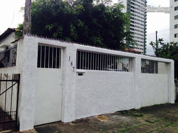 Casa Com 4 Dormitórios Para Alugar, 215 M²- Madalena - Recife/pe - Ca0322