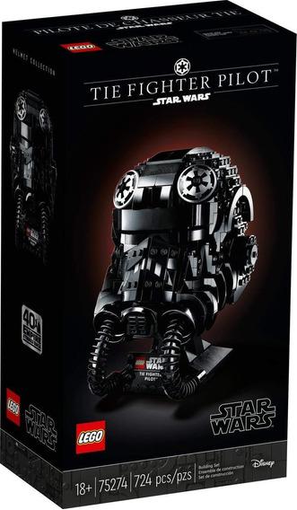 Lego Star Wars Casco De Piloto De Caza Tie Fighter 75274