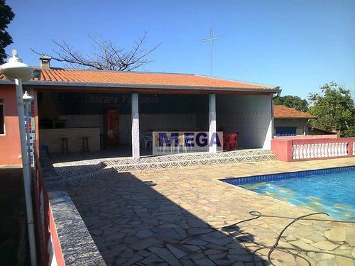 Chácara Com 2 Dormitórios À Venda, 1250 M² Por R$ 900.000,00 - Chácaras Cruzeiro Do Sul - Campinas/sp - Ch0037