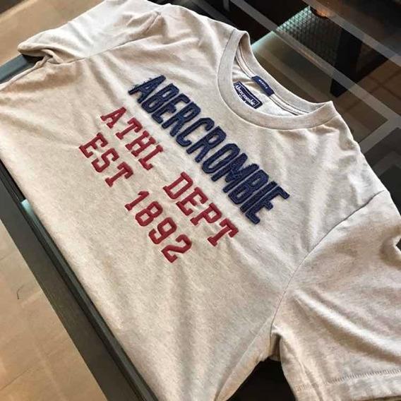Camiseta Abercrombie Cinza Original