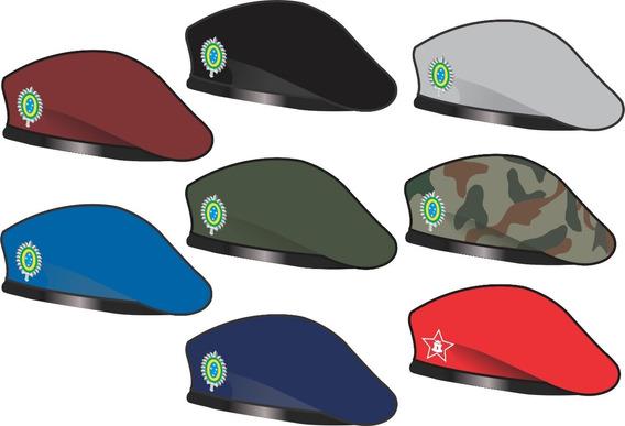 Uniforme Colégio Militar: Boina Garança Com Distintivo
