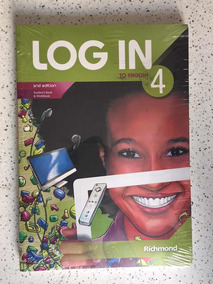 Livro Log In To English 4, Ed 2º Novo
