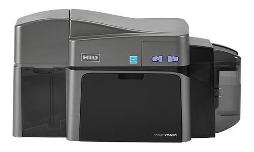 Imagem 1 de 4 de Impressora Hid Fargo Dtc1250e Dual Cartão Crachá Pvc C50