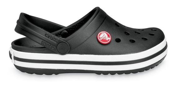 Crocs Originales Crocband Negra Unisex   Hombre Mujer