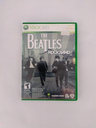 Jogo The Beatles Rockband Mídia Física Xbox 360