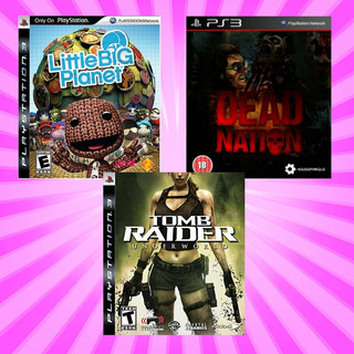 Tomb Raider Underworld + 2 Juegos Extra -- Ps3 Digitai