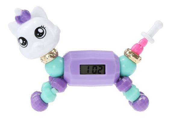 Reloj Twisty Pet Pulsera Unicornio Con Reloj Brazalete