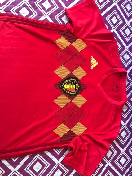 Camiseta adidas Climacool Bélgica S Usada Una Sola Vez!!!!!!