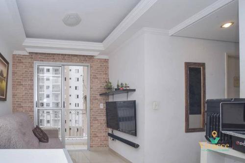 Imagem 1 de 30 de Apartamento À Venda, 47 M² Por R$ 325.000,00 - Tatuapé - São Paulo/sp - Ap3115