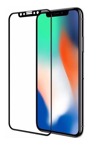 Protector Pantalla Vidrio Templado Curvo 3d iPhone X 10