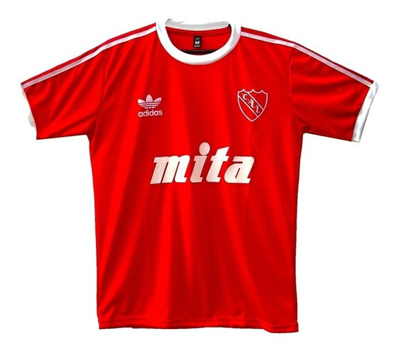 Camiseta De Independiente Retro Bochini 10