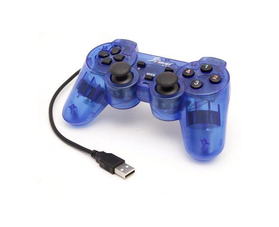 Controle Joystick Dualshock Usb P/ Pc Tv Box Emulador Game