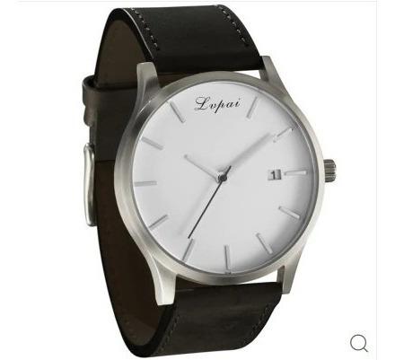 Lvpai P066 Moda Masculina Casual Relógio De Pulso De Couro