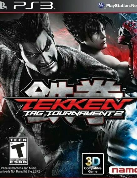 Tekken Tag Tournment 2 Ps3 Playstation 3 Jogo Em Promoção