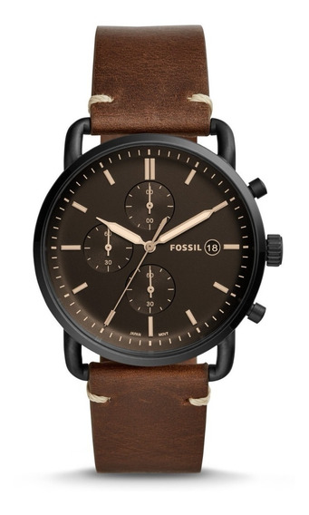 Fossil The Commuter Chrono Brown Fs5403 ........... Dcmstore