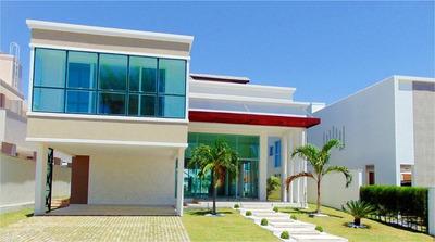 Casa Duplex Com 6 Quartos À Venda, 487 M² , Nova, Piscina - Condomínio Alphaville Fortaleza Residencial - Eusébio/ce - Ca0310