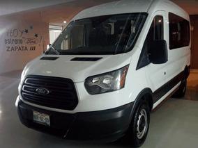 Transit Van Techo Mediano 2017 17 Pasajeros Nueva