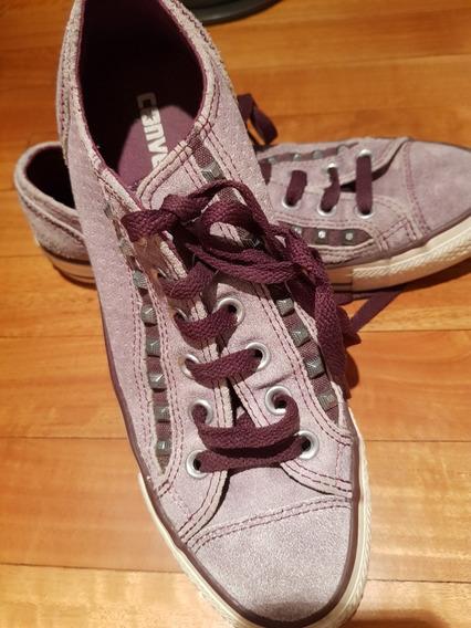 Converse Zapatillas Gamuza Con Tachas Talle 39