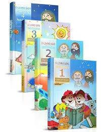 Combo O Livro Dos Espíritos P/ Crianças - Vol. 1,2,3,4