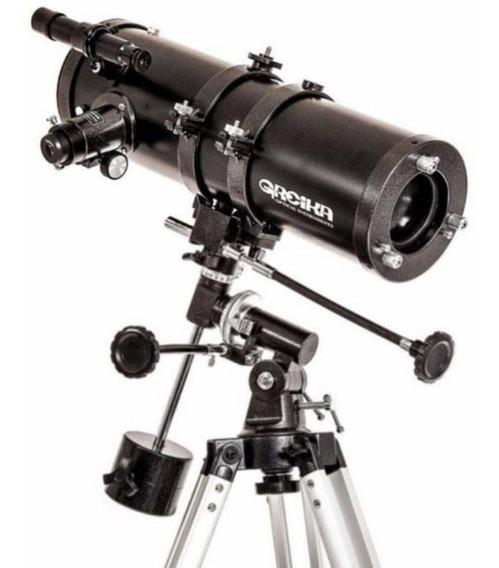 Telescópio Equatorial Newtoniano 1400x150mm Greika 1400150eq