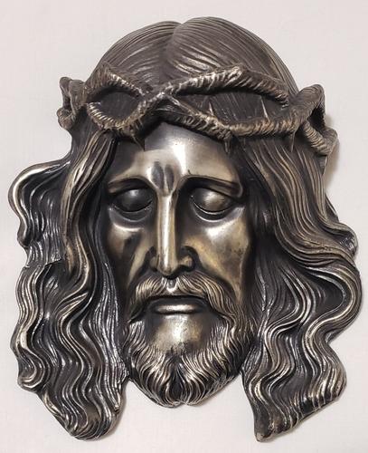 Imagen 1 de 5 de Cristo Con Corona De La Casa Escasany 16.5cm Alto Fundición